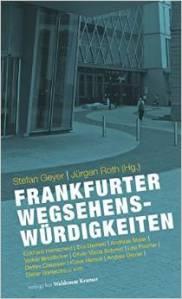 Frankfurter Wegsehenswürdigkeiten Cover